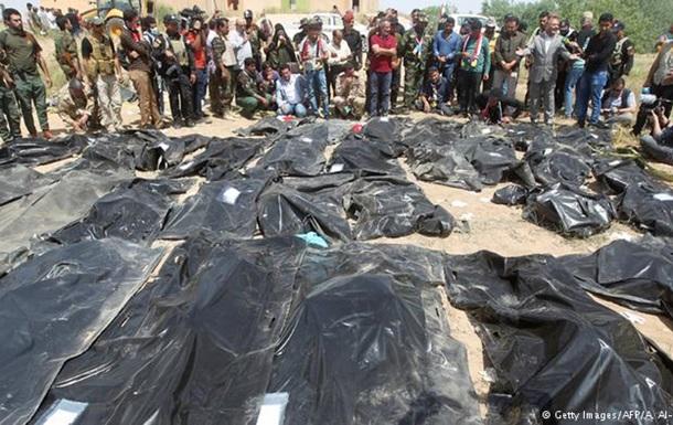 В Іраку виявили масове поховання обезголовлених тіл