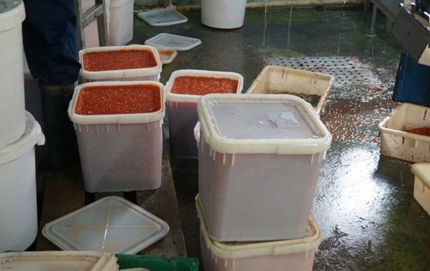 У Москві вкрали 13 тонн червоної ікри