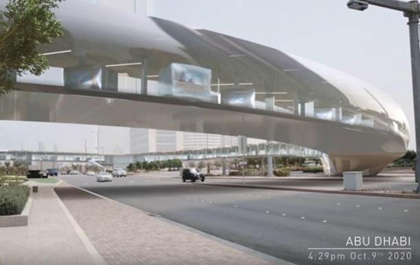 В Арабских Эмиратах запустят вакуумный поезд