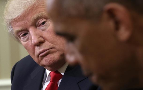 Обама отказал Трампу в совместной фотосессии - СМИ