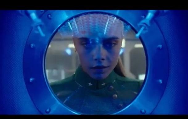 Вышел трейлер фильма Бессона с Рианной и Делевинь