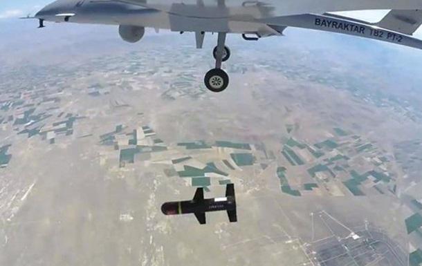 Турция разработала собственный ударный дрон