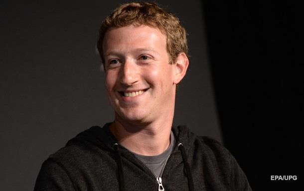 Цукерберг названий бізнесменом року за версією Fortune