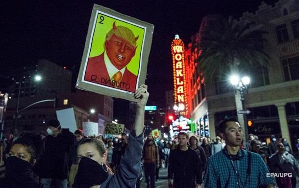Трамп похвалил активистов, протестующих против него