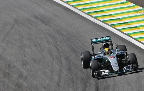 Формула 1. Гран-прі Бразилії. Хемілтон - найшвидший у другому тренуванні