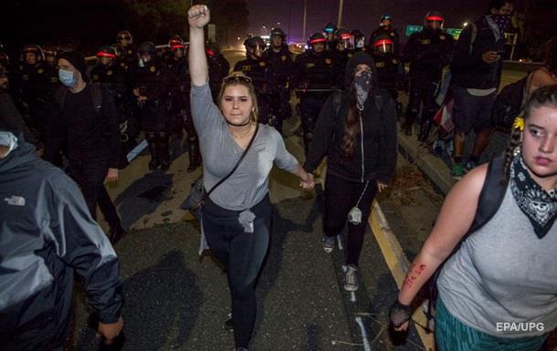 На акції проти Трампа сталася стрілянина