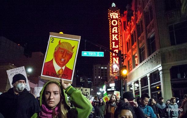 В Лос-Анджелесе задержали более 150 протестующих против Трампа