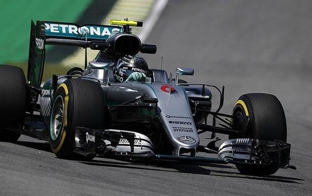Формула 1. Гран-прі Бразилії. Росберг - найкращий у третьому тренуванні