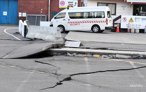 У Новій Зеландії другий потужний землетрус