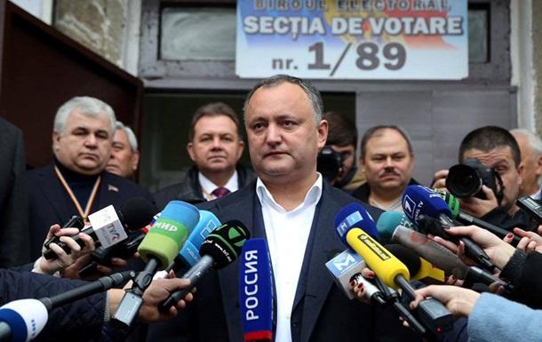 Новый президент Молдовы свой первый визит совершит в Москву