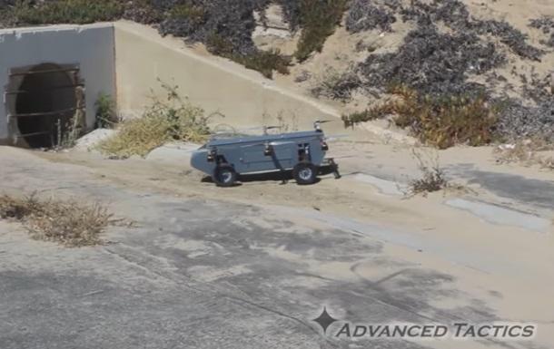 У США показали летючий дрон-позашляховик
