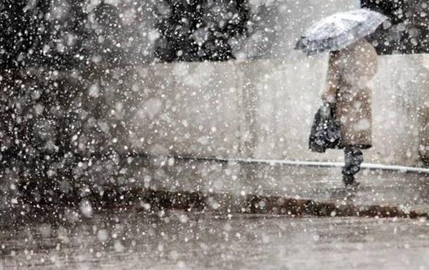 Киевлян предупредили о ночном снегопаде