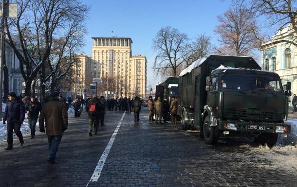 У центрі Києва відновили рух транспорту