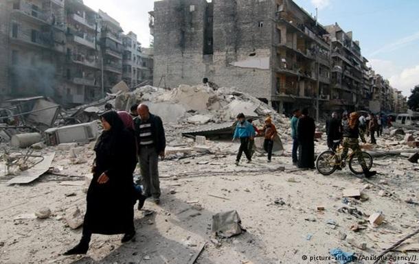 В Алеппо розбомбили дві амбулаторії
