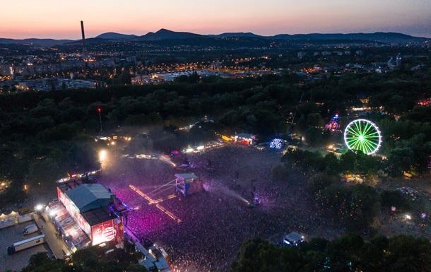 Фестиваль Sziget посетили более полумиллиона человек