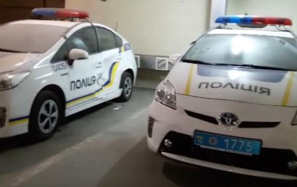 В Одесі знайшли кладовище битих поліцейських авто