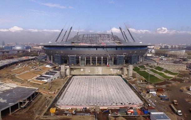На недобудованому стадіоні Зеніту перевищені норми концентрації аміаку і формальдегіду