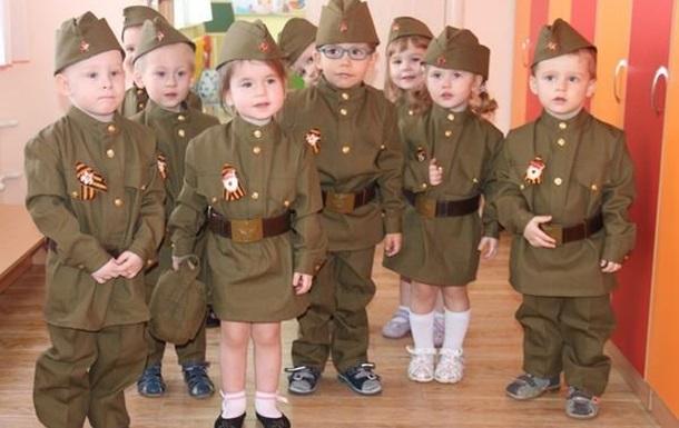 В Крыму зомбирование пробралось и в детские сады