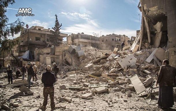 Бомбардировка Алеппо: погибли 27 мирных жителей