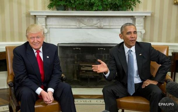 Обама про Трампа: Не поспішайте з висновками