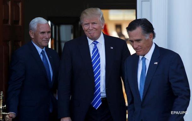 Трамп встретился с кандидатом на пост госсекретаря США