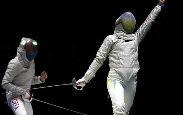 Фехтування. Українки стали другими на етапі Кубку світу