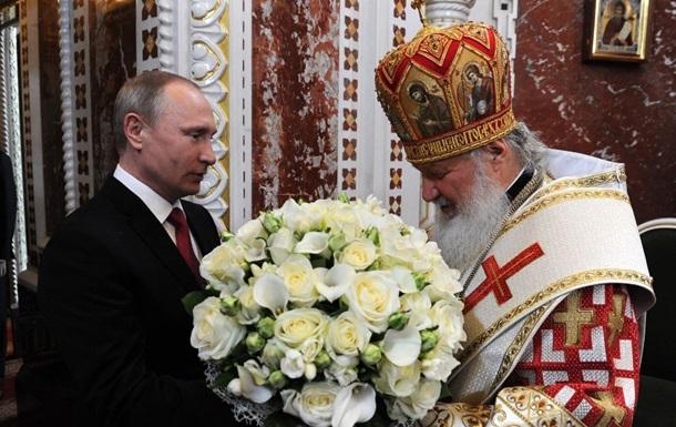 Путін заявив, що його хрестив батько патріарха Кирила