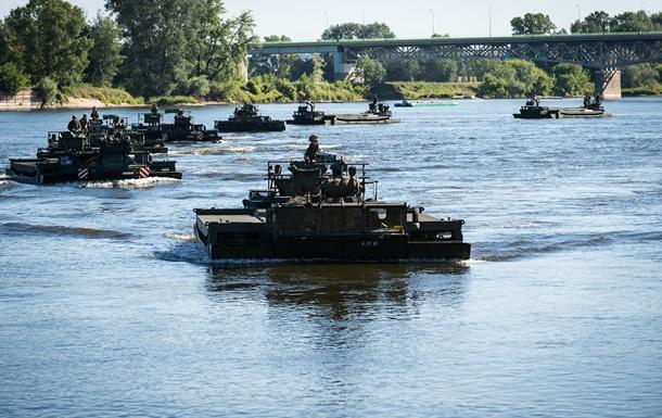 Польща прийняла рішення скерувати танки до Латвії