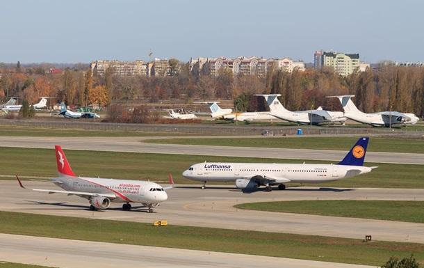 В Борисполе отменили рейсы из-за бунта в Lufthansa