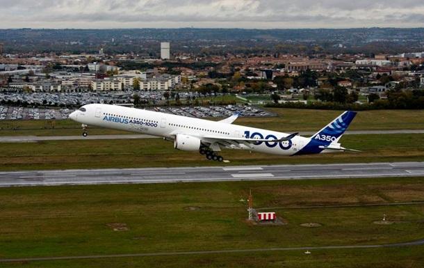Опубліковане відео першого польоту нового літака Airbus