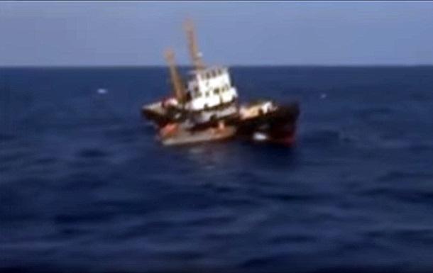 В Сети показали спасение судна Украины кораблем РФ