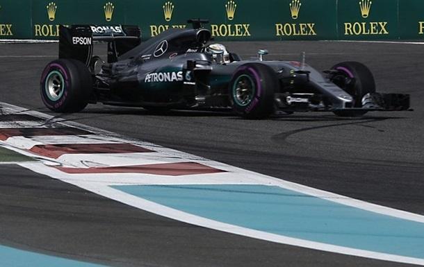 Формула-1. Гран-прі Абу-Дабі. Хемільтон – лідер першого тренування