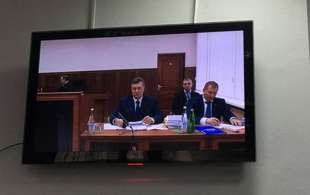 Допит Януковича: онлайн-трансляція