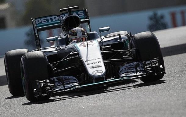Формула-1. Гран-прі Абу-Дабі. Гемільтон - найшвидший у другому тренуванні