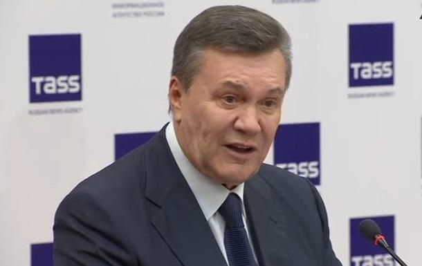 Янукович назвал свою ошибку во время Майдана