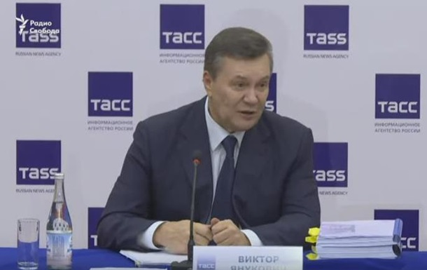 Янукович нахамив українській журналістці
