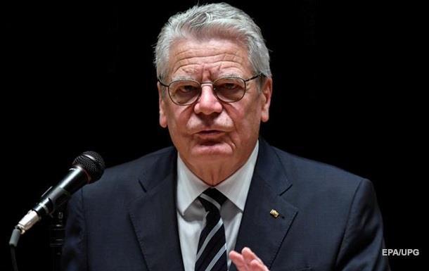 Євроінтеграцію потрібно призупинити - президент ФРН