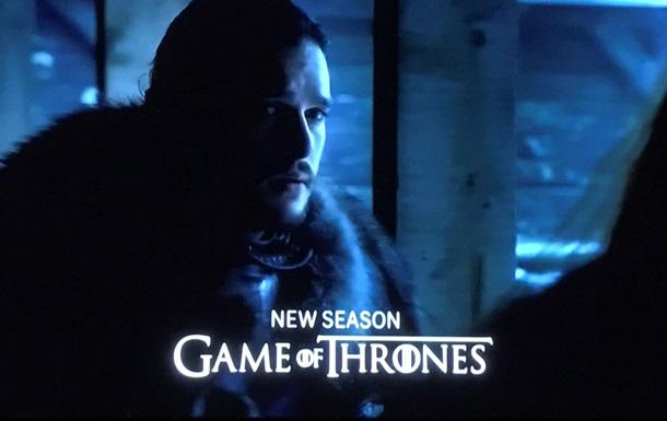 Появились кадры из новой  Игры престолов