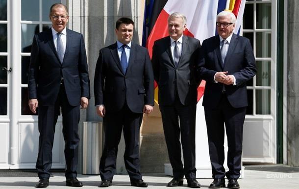 Киев покажет дорожную карту на встрече глав МИД нормандской четверки