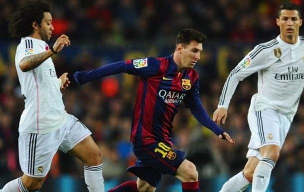 Барселона или Реал? Версия российской модели