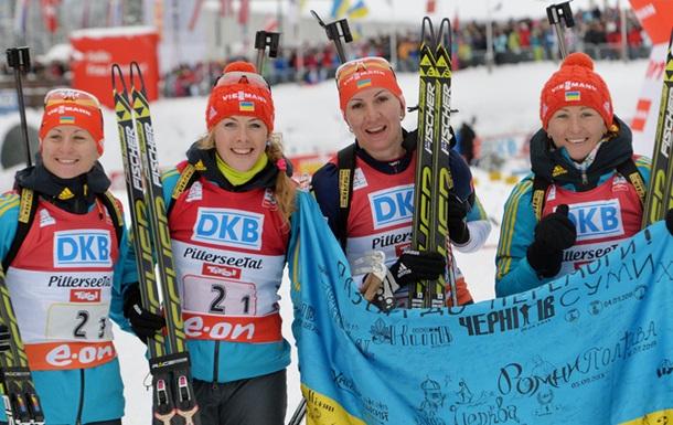 Біатлон. Шість українок завтра стартують в Остерсунді
