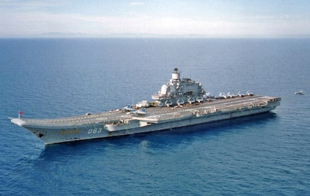 Винищувачі не можуть злетіти з російського авіаносця в Сирії - ЗМІ