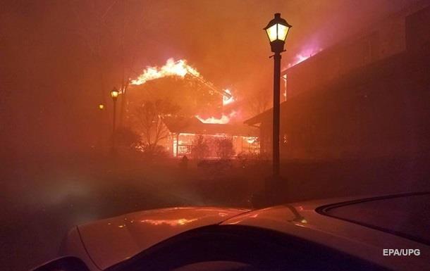 Лесные пожары в Теннесси унесли жизни семи человек