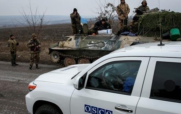 ОБСЕ: В Донецкой области зафиксировано 500 взрывов
