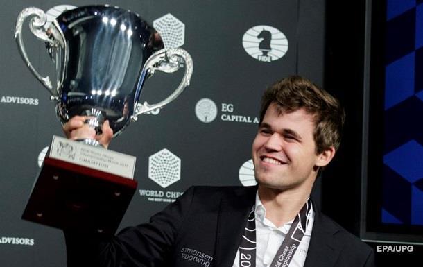 Карлсен зберіг титул чемпіона світу з шахів