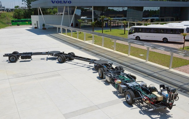 Volvo розробила найбільший автобус у світі