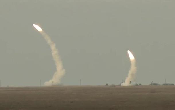 Ракетные стрельбы Украины над Крымом
