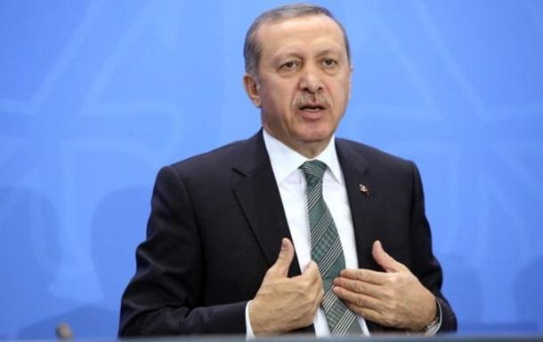 Ердоган відмовився від слів про повалення Асада