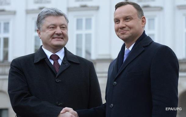 Порошенко запропонував відкрити чотири КПП на кордоні з Польщею