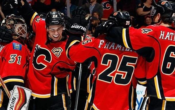 НХЛ. Перемоги Калгарі і Сан-Хосе